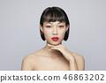 女性美容系列顏色回 46863202