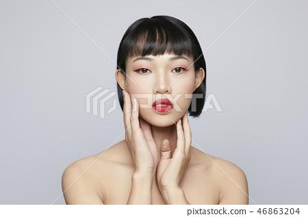 女性美容系列顏色回 46863204