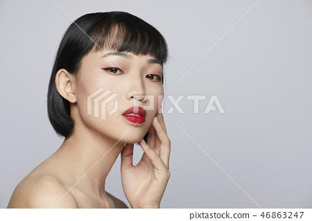 여성 뷰티 시리즈 컬러 백 46863247