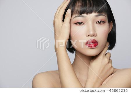 女性美容系列顏色回 46863256