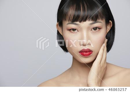 女性美容系列顏色回 46863257