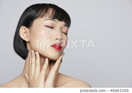 人物 肖像 女生 46863268