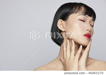 女性美容系列颜色回 46863270