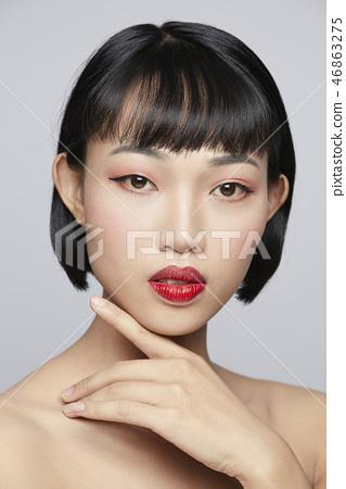女性美容系列顏色回 46863275