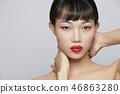 女性美容系列顏色回 46863280