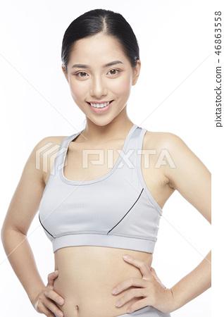 女式運動服 46863558