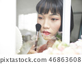 女人美容圖像化妝 46863608