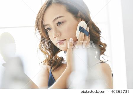 女人美容圖像化妝 46863732