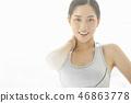 女式运动服 46863778