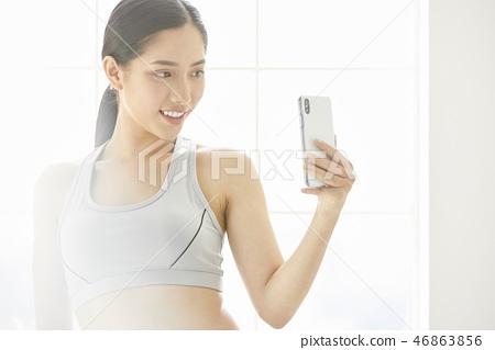 女式运动服 46863856