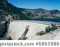 蓄水池 河 道路 46863986