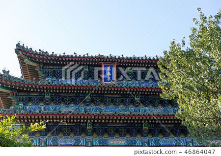 紫禁城故宮博物院 中国北京観光スポット Forbidden City 世界五大博物館 景山公園 46864047