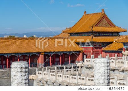 紫禁城故宮博物院 中国北京観光スポット Forbidden City 世界五大博物館 46864472