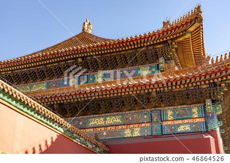 紫禁城故宮博物院 中国北京観光スポット Forbidden City 世界五大博物館 46864526