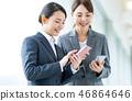 女商人(智能手機) 46864646