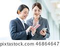 女商人(智能手機) 46864647