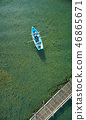 家庭旅行湖船 46865671