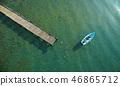 家庭旅行湖船 46865712
