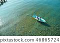 家庭旅行湖船 46865724