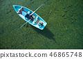 家庭旅行湖船 46865748
