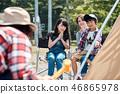 家庭旅行湖營地 46865978