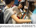 喜歡購物的女性 46866875