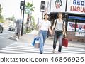 Women who enjoy shopping 46866926