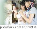 쇼핑을 즐기는 여성 친구 46866934