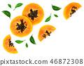 tropical fruit food 46872308