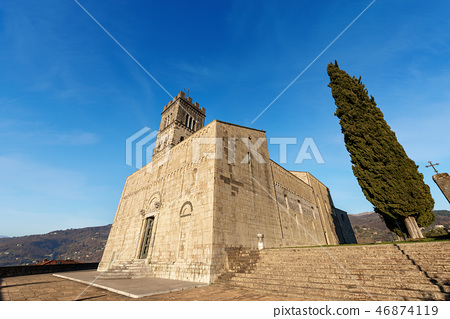 Cathedral of Saint Christopher Barga Tuscany Italy 46874119