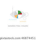 successful business idea marketing vision concept line style isolated 46874451
