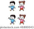 孩子们散步 46880043