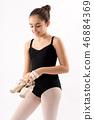 dancer, ballerina, girl 46884369