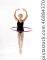 hula, hoop, ballerina 46884370