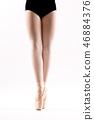 girl, ballerina, legs 46884376