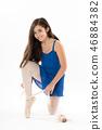 girl, dance, ribbons 46884382