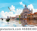 Gand Canal in Venice 46888380