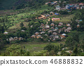 Vietnam traditional house at mountain village 46888832