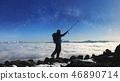 climber, hiker, hiking 46890714