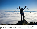hiker, man, hiking 46890716