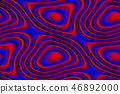 Abstract seamless texture in red and blue colors 46892000