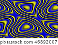 Abstract seamless texture in yellow and blue 46892007