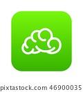 Mobile cloud icon green vector 46900035