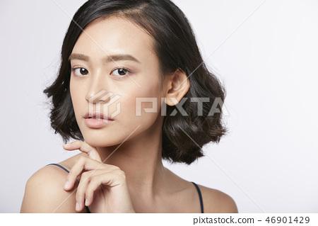 女人肖像系列換裝 46901429