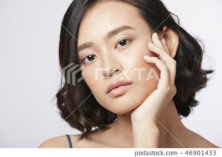 女人肖像系列換裝 46901433