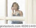女人美容图像化妆 46901449