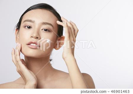 女性美容系列顏色回 46901463
