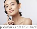 女性美容系列顏色背部化妝 46901470