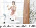 女人美容圖像化妝 46901508