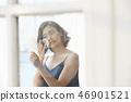 女人美容图像化妆 46901521